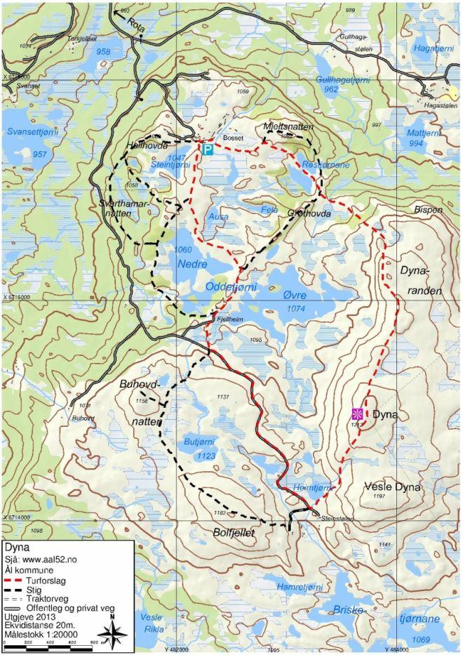 kart koordinater Ål52 :: Dyna kart koordinater